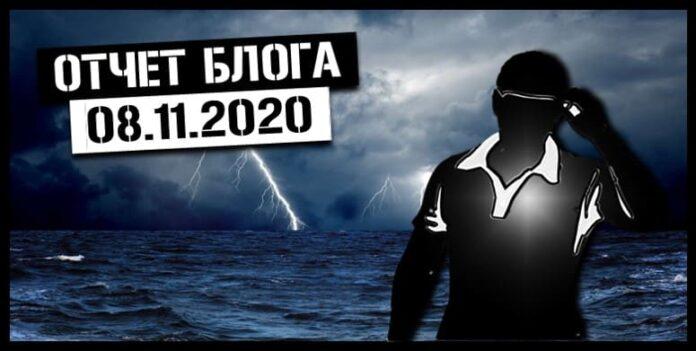 отчет 8 ноября 2020